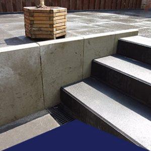 Traptreden en Beton-elementen